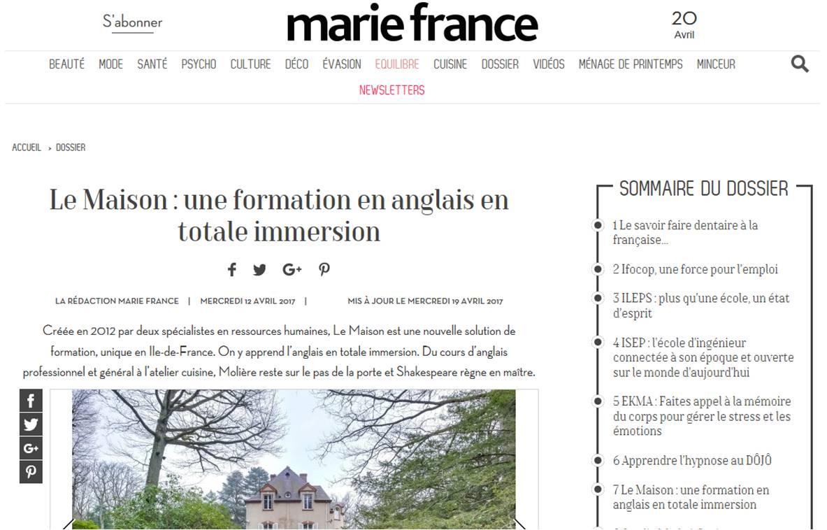 formation anglais pour adulte en France